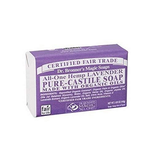 Dr. Bronner's Pure-Castile Bar Soap - Lavender (5 Oz) ()