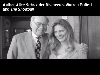 a book critique of the snowball warren buffet and the business of life by alice schroeder Buy the paperback book the snowball by alice schroeder at indigoca,  whether you are a warren buffet fan or  the snowball: warren buffett and the business.