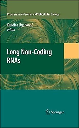 Book Long Non-Coding RNAs (Progress in Molecular and Subcellular Biology)