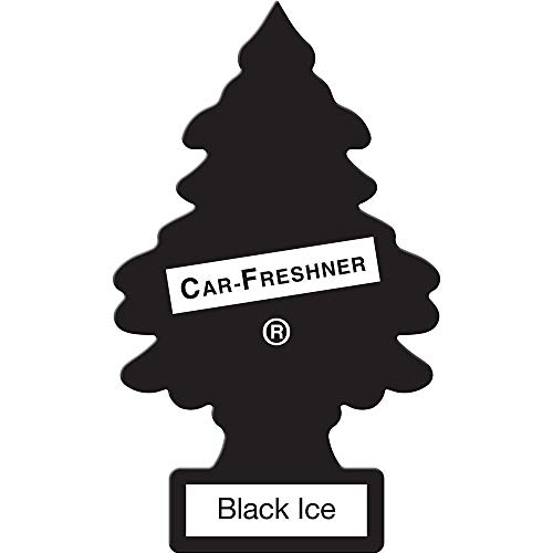 Little Trees U3S-32055 Air Freshner (Black Ice Pk3)