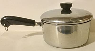 Revere 2 qt. Saucepan & Lid. Stainless Steel with tri-ply bottom.