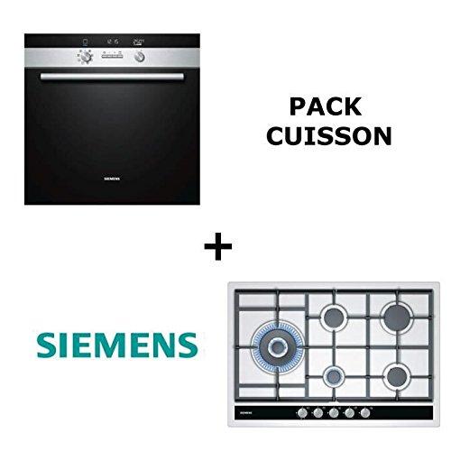 Siemens - Pack de horno: horno multifunción pyrolyse + mesa de ...