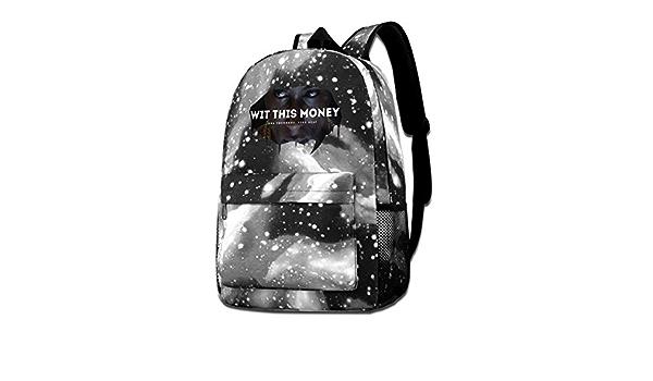 Trumpinginging N-BA Youngboy Kids Outdoor Backpack Durable Multi-Function School Bag Purse Bookbag