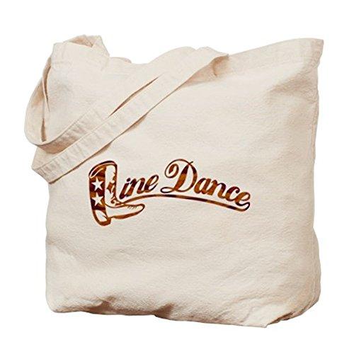 CafePress–Liine–Borsa di tela naturale, panno borsa per la spesa
