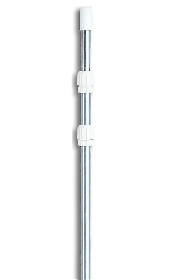 Hydrotools 8150 Swimming Pool Vacuum Cleaner Vac Head w// 4-12 Telescopic Pole