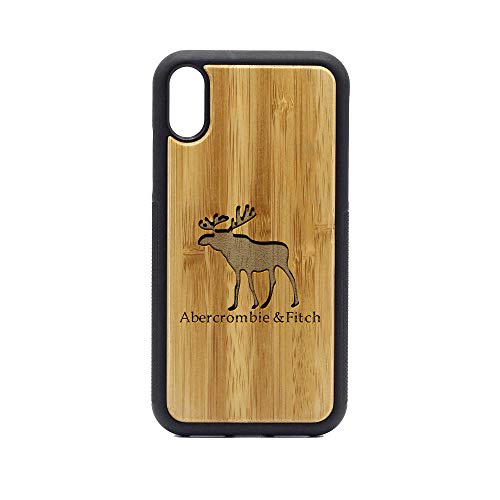 (Abercrombie and Fitch - iPhone XR Case - Bamboo Premium Slim & Lightweight Traveler Wooden Protective Phone Case - Unique, Stylish & Eco-Friendly - Designed for iPhone XR)