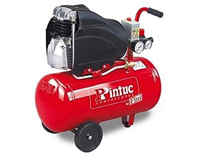 "Compresor Portátil Pintuc AMICO 25/SF2500 - Serie ""Semi profesional"""