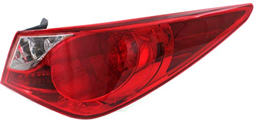 Tail Light for HYUNDAI SONATA 2011-2014 RH Outer Assembly Bulb Type