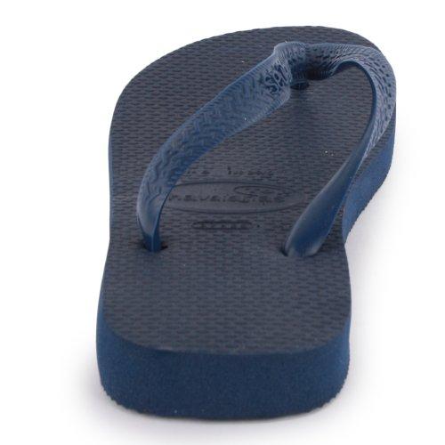 para Brazilian UK Sandalias 8 Havaianas Marina de goma hombre vestir Blu de 41 42 zddnX