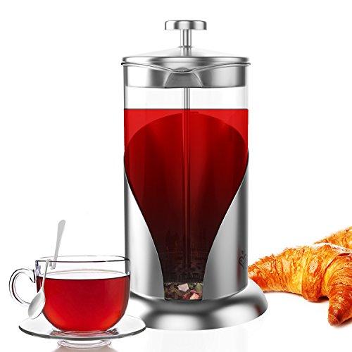 French Press Coffee & Tea Maker Complete Bundle 34 Oz ...
