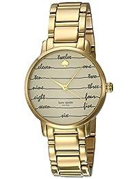 Kate Spade Women's Metro KSW1060 Gold Stainless-Steel Quartz Watch