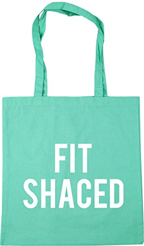 42cm Beach x38cm Tote Shaced Shopping 10 litres Gym Mint Bag HippoWarehouse Fit 8EFqXxw0X