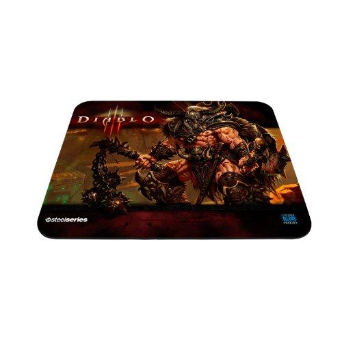 SteelSeries QcK Diablo III Gaming Mouse Pad - Barbarian Edit