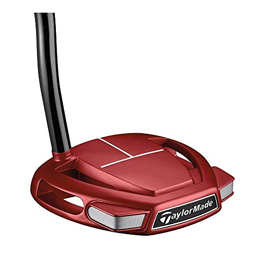 Line Taylormade Performance (TaylorMade Golf Spider Mini Red Putter (Right Hand, Double Bend, 33 Inches) (Renewed))