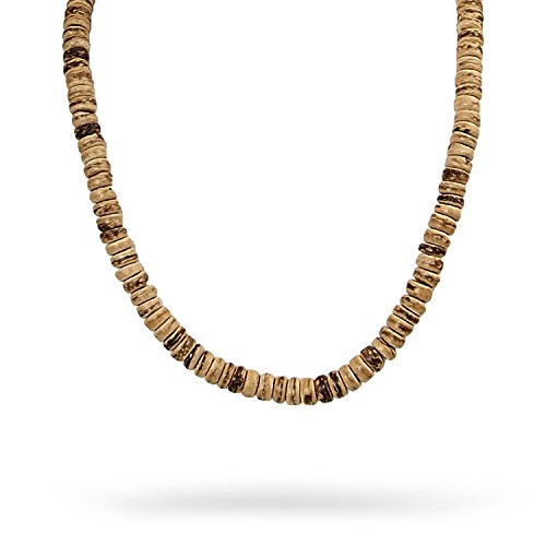 - JewelryVolt Fashion Necklace Coconut Bread Surfer Beach Surf Hand Crafted