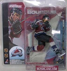 McFarlane Toys NHL Sports Picks Series 1 Action Figure: Ray Bourque (Colorado Avalanche) Maroon Jersey CHASE
