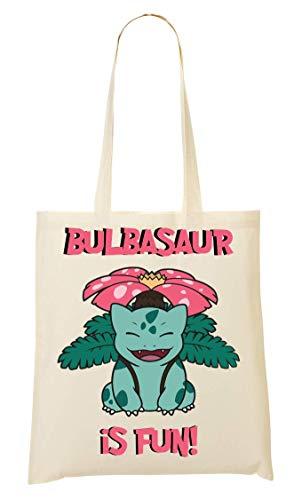 Wicked Sac tout Fourre Pokemon Bulbasaur À Fun Time Design Provisions 1r61waq