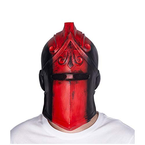 Yaxuan Knight Game Carnival Mask Men's/Women's Halloween Festival/Holiday Halloween Prop Masquerade Mask,Red,OneSize]()