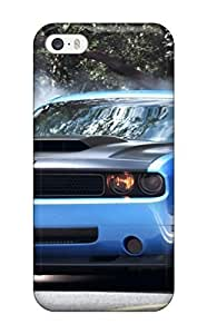 Iphone 5/5s Smoke Coming Out Blue Car Tires Print High Quality Tpu Gel Frame Case Cover
