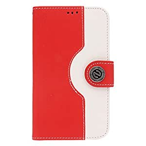 HP Mixed Colors Series Artificial Leather and Plastic Back Case for Samsung Galaxy S4 i9500/i9505
