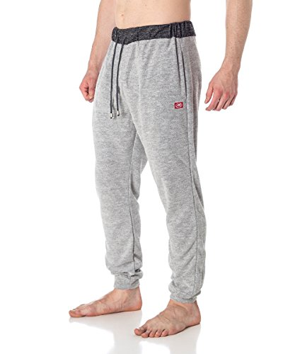 Ecko Unltd. Mens Slub Cotton Jogger Pants Grey XL