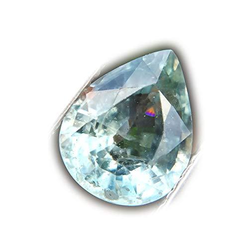 Lovemom 1.98ct Natural Pear Unheated Blue Sapphire Tanzania #W by Lovemom