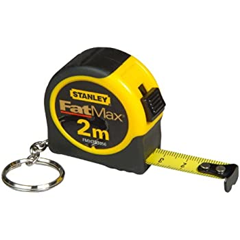 Stanley FatMax FMHT0-33856 Measuring Tape 2 m with Keyring ...