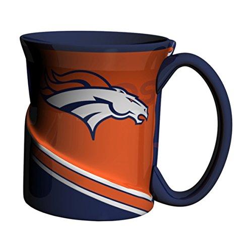 NFL Denver Broncos Twist Mug, 18-ounce, Blue]()