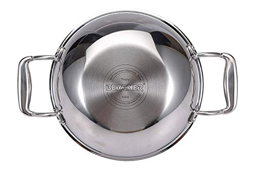 Bergner-Stainless-Steel-Hitech-Prism-Non-Stick-Kadhai-with-Glass-Lid-26-cm-35L-Grey-2-Piece