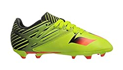 Adidas Performance Messi 15.3 J Soccer Cleat (Little Kidbig Kid), Semi Solar Slimesolar Redblack, 5.5 M Us Big Kid
