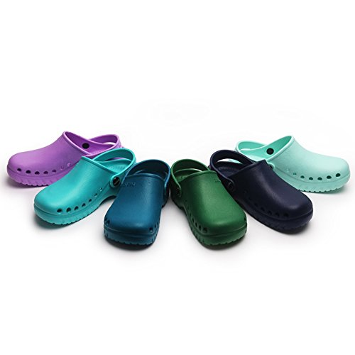 Holes Slippers Nursing Classic fereshte Garden Clogs Heathcare Unisex Shoes Purple wn5vqCSv
