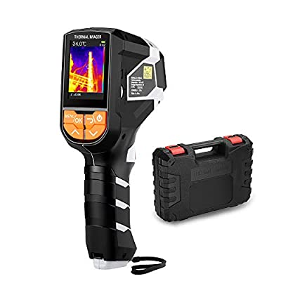 "IR Infrared Thermal Imaging Camera, Higher Resolution 320 x 240 Imager, with IR Resolution 1024 Pixels & Temperature Range from -4-1832?, 2.4"" LCD TFT Color Screen Display,with Carrying Case"