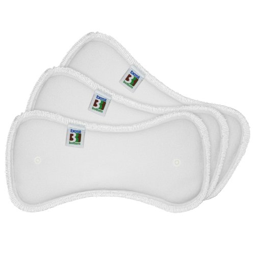 Best Bottom Inserts, Stay Dry, Medium, (Best Bottom Cloth Diaper Shells)