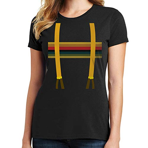 Bluejack Clothing Doctor Who Suspenders Womens T-Shirt Jodie Whittaker 13th Doctor Who 2221
