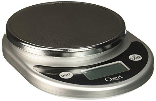 Ozeri Pronto Digital Multifunction Kitchen and Food Scale, Elegant Black (Black, 1)