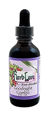 Herb Lore Organic Goodnight Combo Tincture - Sweet Glycerite Base