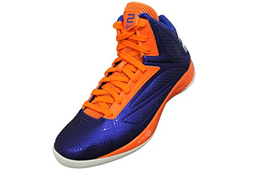 Under Armour Mens UA TB Micro G Torch Basketball Shoe Royal/Blaze/White, 12 D(M) US