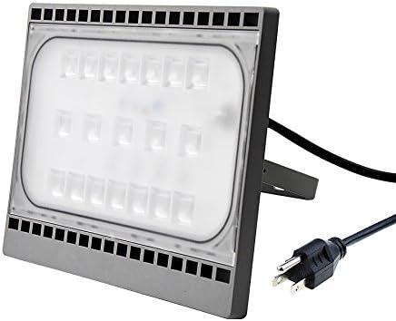 10W Led Flood Light With US Plug Warm White Lanscape Outdoor Lighting Fixture US