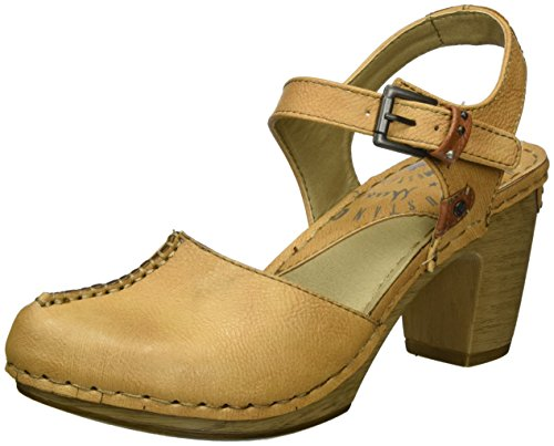 Mustang Women's 1239-901-313 Ankle Strap Pumps Brown (313 Amaretto) HF2kDD