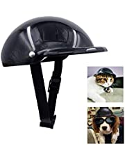 GUGELIVES Pet Dog Helmet Doggie Hardhat for Puppy Chihuahua Blind Dogs Ridding Motorcycles Bike Outdoor Activities to Protect Head Sunproof Rainproof Pet Supplies for Small Medium Big Dog Helmets