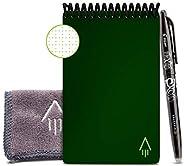 Rocketbook Caderno inteligente e reutilizável – Caderno ecológico com 1 caneta Pilot Frixion e 1 pano de micro