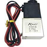 #3: 1/4inch DC 12V 2 Way Normally Closed Electric Solenoid Air Valve