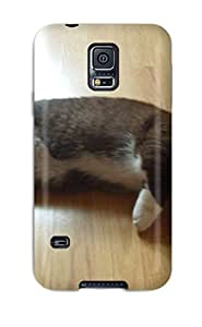 EBaYRGS15872vduZe Case Cover Munchkin Cats Galaxy S5 Protective Case