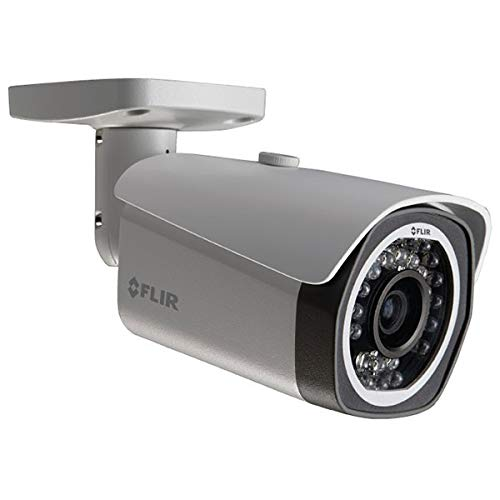 FLIR Digimerge N233BE Outdoor Fixed IP Security Bullet, 3MP HD IP Camera, 3.6mm Lens, 80ft Night Vision, Works with Onvif, Lorex, Flir NVR, White (Camera Only)