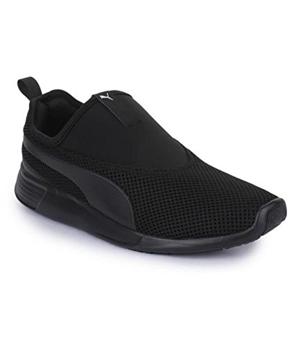 Puma Unisex St Trainer Evo Slip On V2 Puma Black Sneakers - 11 UK India 4b0dec6e83