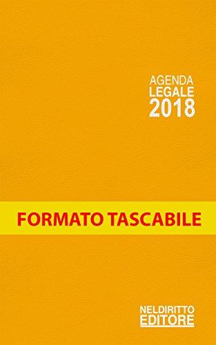 Agenda legale 2018 arancio. Ediz. minore