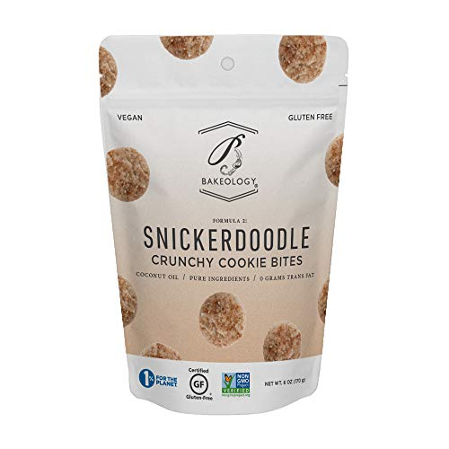 Bakeology, Snickerdoodle Cookie Bites, 6 oz