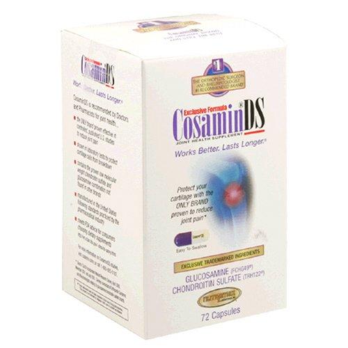 Nutramax Laboratories, Inc. CosaminDS, Capsules, 72-Count Bo