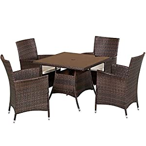 41GsRG2zW8L._SS300_ Wicker Dining Tables & Wicker Patio Dining Sets
