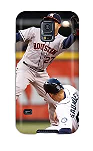 Premium Protection Houston Astros Case Cover For Galaxy S5- Retail Packaging